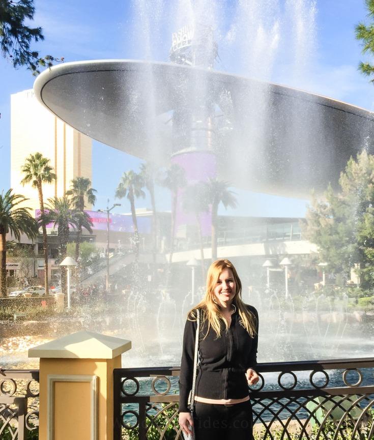 Samantha Haupt in Las Vegas