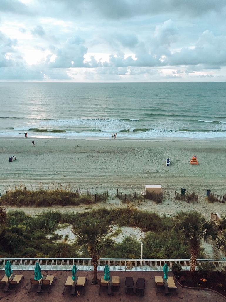 Myrtle Beach Hotel Balcony Ocean View