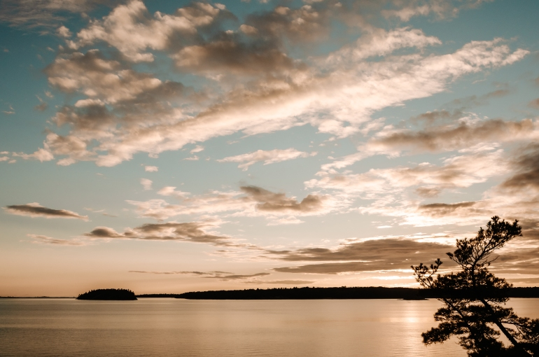 Sunset over Georgian Bay